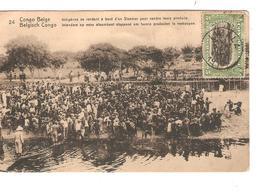 Belgisch Congo Belge Entier Vue 24 CP 5c + TP Mols 5c C.Lisala 6/1/1919 Non Voyagée PR5243 - Entiers Postaux