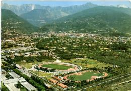 MASSA Panorama Aereo Con Stadio E Impianti Sportivi  Stadium  Stade  Stadion Estadio - Calcio