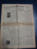 Fac Similé Une - Alger Républicain - 14 Mai 44 - Usines Aéronautiques De Tutow Et D'osnabruck Attaquées Par 750 Bombardi - Newspapers