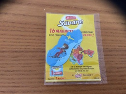 Magnet Brossard Savane Série 16 EUROPE (SUEDE, Lion) - Magnets