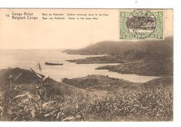 Belgisch Congo Belge Entier Vue 18 Baie De Mobimbi CP 5c + TP Mols 5c C.Lisala 6/1/1919 Non Voyagée PR5245 - Entiers Postaux