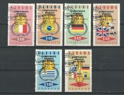Panama: 428/ 429 + PA 392/ 395 Oblit ) Londres 66 - 1966 – Inghilterra