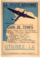"""Entier Postal De 2017 Sur CP Avec Timbre Et Illust.  """"LA POSTE AERIENNE - GAIN DE TEMPS - UTILISEZ - LA"""" - Entiers Postaux"""