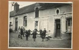 NAILLY (yonne) - école De Fays, Ronde Enfantine,années 30 (photo Format 11,6cm X 8,6cm) - Lieux
