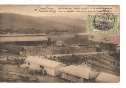 Belgisch Congo Belge Entier Vue 16 Port De Matadi CP 5c + TP Mols 5c C.Lisala 6/1/1919 Non Voyagée PR5246 - Entiers Postaux
