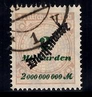 Allemagne/Reich Timbre De Service Michel N° 84 Oblitéré. B/TB. A Saisir! - Dienstpost