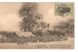 Belgisch Congo Belge Entier Vue 12 Forde Publique CP 5c + TP Mols 5c C.Lisala 6/1/1919 Non Voyagée PR5249 - Entiers Postaux