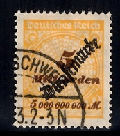 Allemagne/Reich Timbre De Service Michel N° 85 Oblitéré. B/TB. A Saisir! - Dienstpost