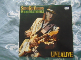 Stevie Ray Vaughan- Live Alive (2LP) - Blues