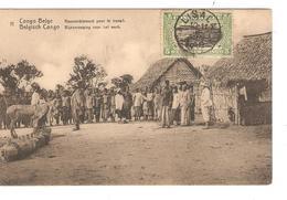 Belgisch Congo Belge Entier Vue 11 CP 5c + TP Mols 5c C.Lisala 6/1/1919 Non Voyagée PR5250 - Entiers Postaux