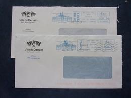 EMA Ville De Denain Tricentenaire De La Bataille De Denain - Marcophilie (Lettres)