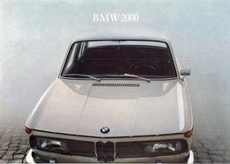 BMW 1600BMW 2000 - Pour Le Plaisir De Conduire. - Advertising