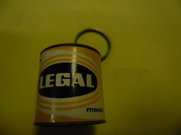 1 PORTE CLEFS LEGAL - Café Moulu Jaune @ Vers 1965 - Porte-clefs