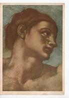"""U2721 Cartolina """"TESTA DI ADAMO"""" , Particolare Della Creazione Del Uomo Di MICHELANGELO - CAPPELLA SISTINA, ROMA - Paintings"""