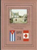 1978 Mi# Block 54 ** MNH - Niven, Wales, By G.H. Russell / Painting / CAPEX '78 - Cuba