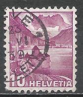 Switzerland 1936. Scott #229b (U) Chillon Castle * - Oblitérés