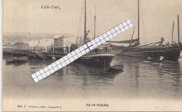 """LILLO-ANTWERPEN """" LILLO FORT-AANLEGPLAATS OP DE SCHELDE""""HOELEN 1947 UITGIFTE 31.07.1906 TYPE3 - Antwerpen"""