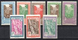 1/ Colonies Française Oceanie Taxe N° 10 à 17 Neuf  X  MH  , Cote : 18,00 € - Postage Due