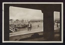 SOMALIA ITALIANA - 1936 -  MOGADISCIO VISTA DAL PONTILE. - Somalia