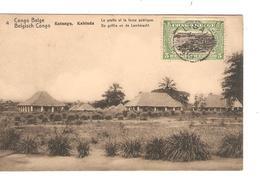 Belgisch Congo Belge Entier Vue 4 Katanga Kabinda CP 5c + TP Mols 5c C.Lisala 6/1/1919 Non Voyagée PR5254 - Entiers Postaux