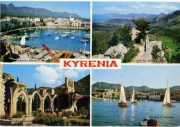 KIBRIS  CYPRUS  CIPRO  KIRENIA  Multiview  Cachet International Motor Boat Races 1966 - Cipro