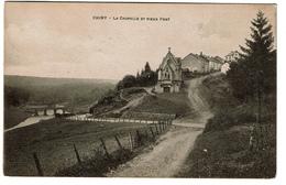 Chiny - La Chapelle Et Le Vieux Pont - 1920 - Edit. Comptoir Artistique - 2 Scans - Chiny
