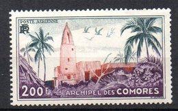 1/ Colonies Française Comores PA  N° 3 Neuf  X  MH  , Cote : 25,00 € - Comores (1950-1975)