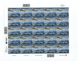 F05 Ross Dependency Dépendance De Ross ( Nouvelle-Zélande) Full Sheet MNH Neuf** Lake - Neufs