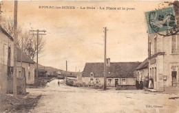 71 - SAONE ET LOIRE / Epinac Les Mines - 713155 - La Place Et Le Pont - Défaut - Autres Communes