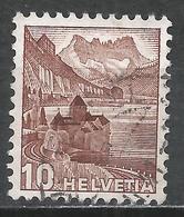 Switzerland 1942. Scott #230B (U) Chillon Castle * - Suisse