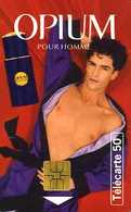 Télécarte 50 : Opium Pour Homme Par Yves Saint Laurent - Perfume