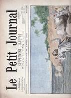 Le Petit Journal Supplément  Illustré 28 Avril   1901 : Au Maroc  Assassinat De M.Pouzet    Lire Description - Kranten