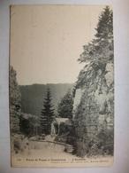 Carte Postale Route De Fuans à Consolation (25) L'Oratoire (Petit Format Noir Et Blanc Oblitérée 1904 Timbre 5 C ) - Altri Comuni