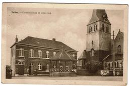 Zolder - Gemeentehuis En Ompeving - Circulée - Uitg. J. Put-Corthouts, Coiffeur - 2 Scans - Heusden-Zolder