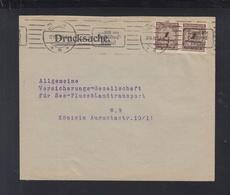 Dt Reich Drucksache Berlin MeF 1923 - Briefe U. Dokumente