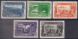 Russia 1949, Michel Nr 1419-23, MLH OG - 1923-1991 USSR