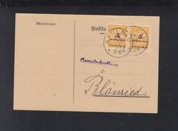 Dt Reich Gemeindepflege Saulgau MeF - Briefe U. Dokumente