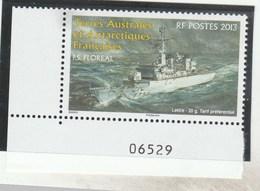TAAF - 2013 - F.S FLOREAL YT 660 - NEUF -  BDF                                        TDA267 - Unused Stamps