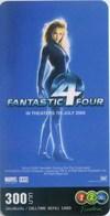 Mobilecard Thailand - 12Call - Movie,Film,cinema  - Fantastic 4 (20) - Cinema