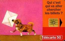 Télécarte 50 : SNCF Service Billet à Domicile - Trains
