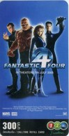 Mobilecard Thailand - 12Call - Movie,Film,cinema  - Fantastic 4 (21) - Cinema