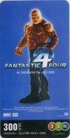 Mobilecard Thailand - 12Call - Movie,Film,cinema  - Fantastic 4 (22) - Cinema