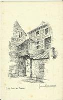 Liège -- Cour Des Mineurs -  Illustré Par Jean Muller.      (2 Scans). - Luik