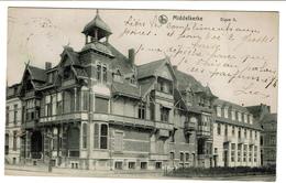 Middelkerke - Digue II - 1914 - Edit. A. Tempere-Muyle - 2 Scans - Middelkerke