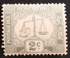 Hong Kong Postage Due - Hong Kong (...-1997)