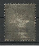 """BRD 165 """"Sondermarke Für Deutsche Kriegsgefangene"""" Gestempelt (amtl.Schwärzung) Mi.-Preis 5,00 € - [7] République Fédérale"""