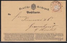 DR Karte EF Minr.14 K2 Emden 28.8. - Briefe U. Dokumente