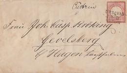 DR Brief EF Minr.19 Plf. XXI Bpst. L3 Dirschau-Berlin - Briefe U. Dokumente