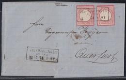 DR Brief Mef Minr.2x 19 R3 Oberröblingen Am See 31.5.74 Gel. Nach Querfurt - Briefe U. Dokumente