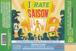 Brasserie De La Senne I Rate Saison - Bière